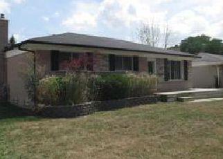 Casa en Remate en Troy 48083 DOWNEY DR - Identificador: 4031050638