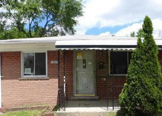 Casa en Remate en Warren 48089 CADILLAC AVE - Identificador: 4162224281