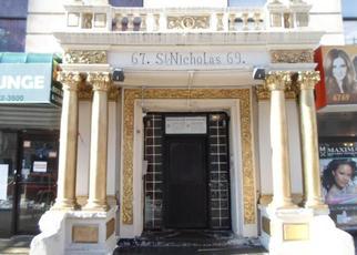 Casa en Remate en New York 10026 SAINT NICHOLAS AVE - Identificador: 4232263328