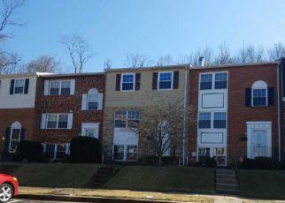 Casa en Remate en Cockeysville 21030 RINGOLD VALLEY CIR - Identificador: 4253742453