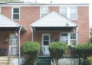 Casa en Remate en Baltimore 21215 GLENGYLE AVE - Identificador: 4280876700
