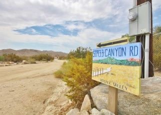 Casa en Remate en Morongo Valley 92256 CANYON RD - Identificador: 4295543120