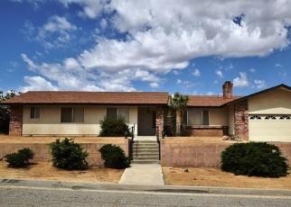 Pre Foreclosure en Yucca Valley 92284 CHURCH ST - Identificador: 1039922555