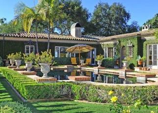 Pre Foreclosure en Santa Barbara 93110 VIA BENDITA - Identificador: 1066072220