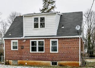 Pre Foreclosure en Gwynn Oak 21207 WESLEY AVE - Identificador: 1076210445