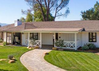 Pre Ejecución Hipotecaria en Santa Ynez 93460 ONTIVEROS RD - Identificador: 1641102753