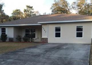 Pre Foreclosure en Dunnellon 34434 W PARAGON LN - Identificador: 945361785