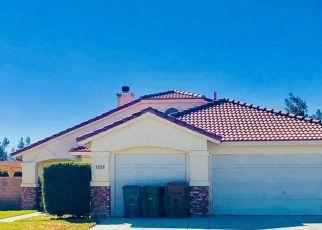 Pre Foreclosure en Palmdale 93550 PURPLE SAGE LN - Identificador: 955721167