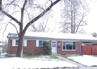Pre Foreclosure en Englewood 80110 W CHENANGO AVE - Identificador: 962374437