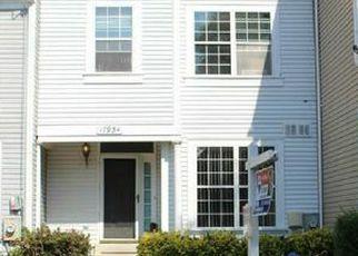 Pre Foreclosure en Olney 20832 SHOTLEY BRIDGE PL - Identificador: 964859505